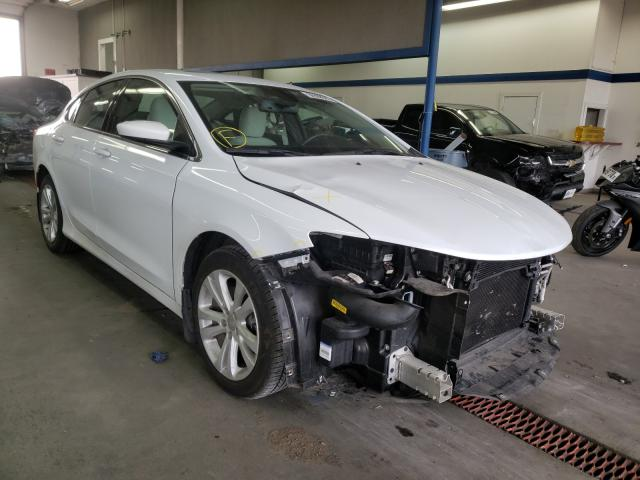 Salvage cars for sale from Copart Pasco, WA: 2016 Chrysler 200 Limited