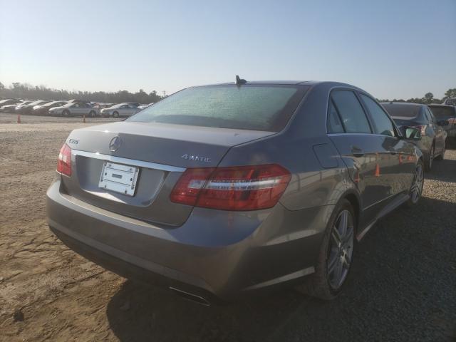 2010 MERCEDES-BENZ E 350 4MAT - Right Rear View