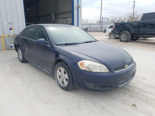 Salvage cars for sale from Copart Abilene, TX: 2011 Chevrolet Impala LT