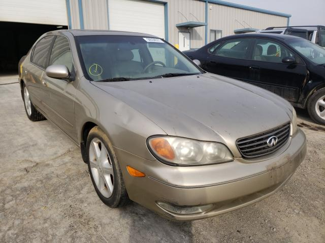 Salvage cars for sale from Copart Chambersburg, PA: 2002 Infiniti I35
