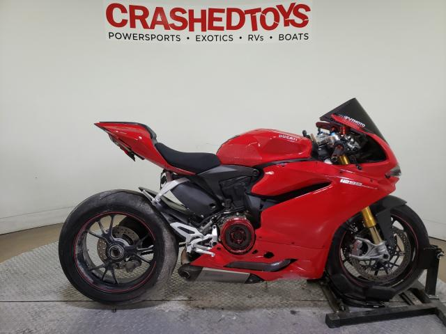 Salvage cars for sale from Copart Dallas, TX: 2015 Ducati Superbike