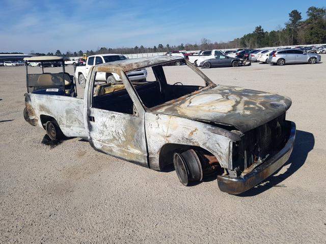 Carros salvage para piezas a la venta en subasta: 1991 Chevrolet GMT-400 C1