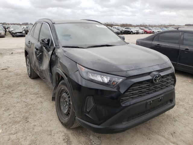 Salvage cars for sale from Copart Temple, TX: 2021 Toyota Rav4 LE