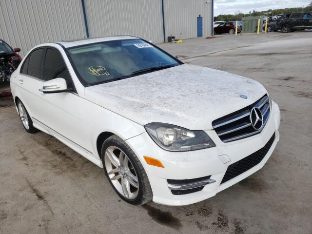 Mercedes-Benz salvage cars for sale: 2014 Mercedes-Benz C 250