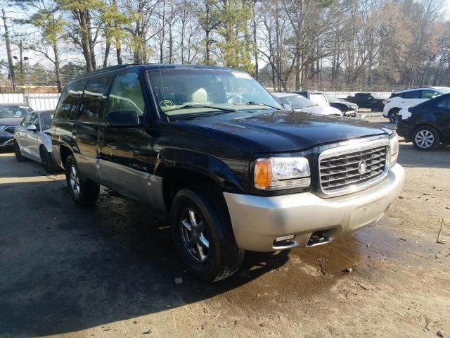 Cadillac Escalade salvage cars for sale: 1999 Cadillac Escalade