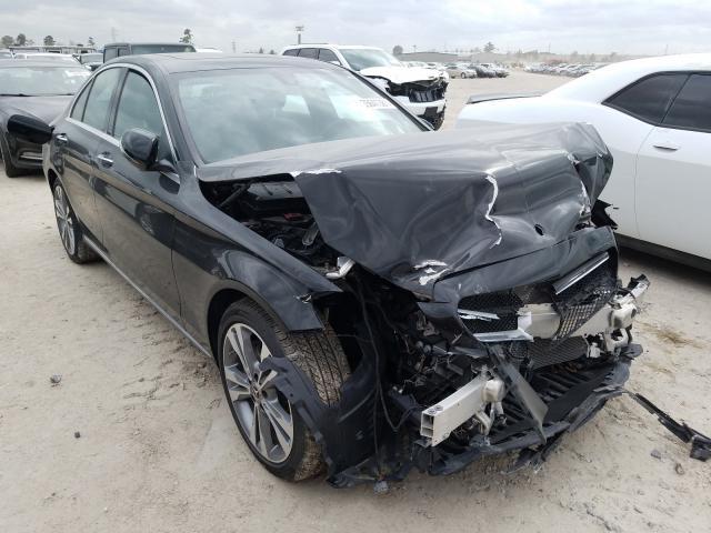 Vehiculos salvage en venta de Copart Houston, TX: 2019 Mercedes-Benz C300
