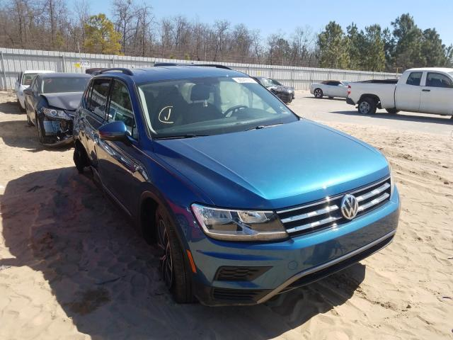 Salvage cars for sale from Copart Gaston, SC: 2020 Volkswagen Tiguan SE