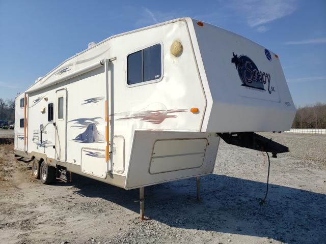 Salvage cars for sale from Copart Spartanburg, SC: 2006 Holiday Rambler Motorhome