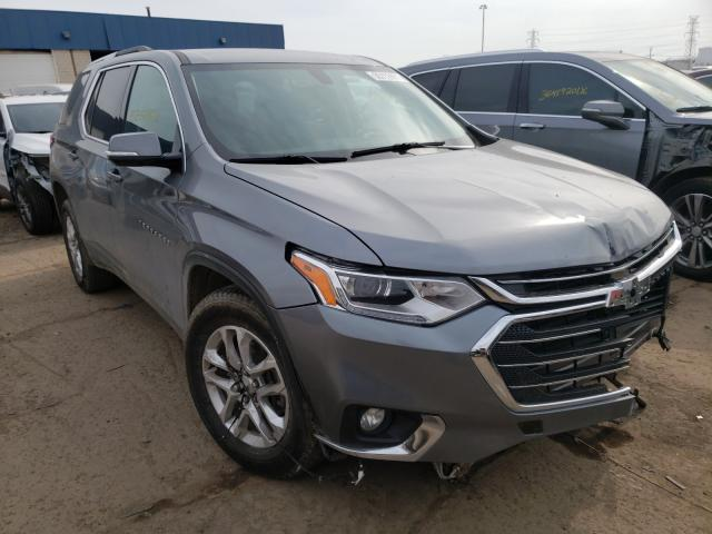 Salvage cars for sale from Copart Woodhaven, MI: 2018 Chevrolet Traverse L