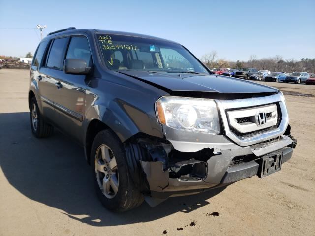 Salvage cars for sale from Copart New Britain, CT: 2009 Honda Pilot EXL