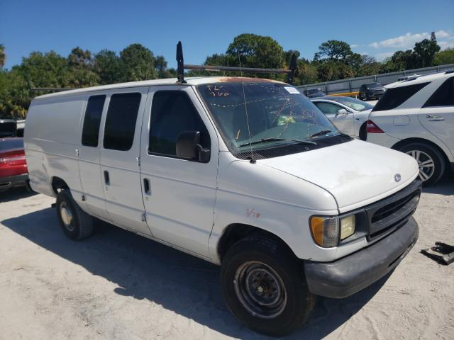 Salvage cars for sale from Copart Fort Pierce, FL: 2000 Ford Econoline