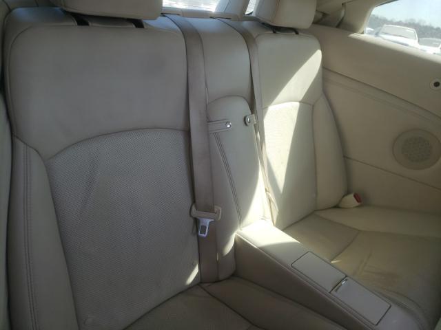 2010 LEXUS IS 350 - Interior View
