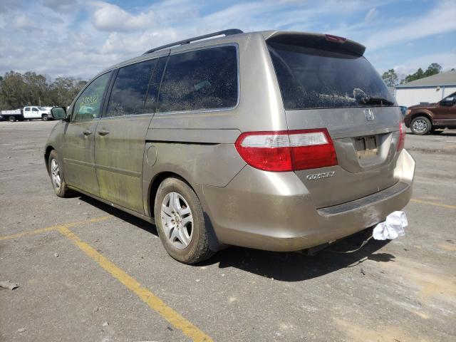 2007 HONDA ODYSSEY - Right Front View