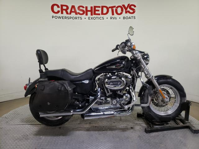 Salvage cars for sale from Copart Dallas, TX: 2013 Harley-Davidson XL1200 CP