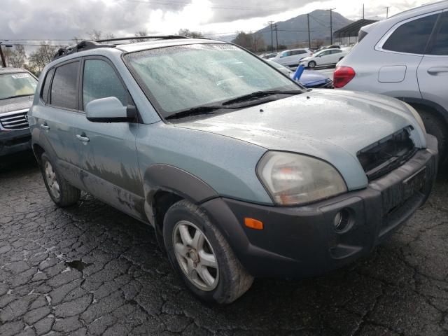 Salvage cars for sale from Copart Colton, CA: 2005 Hyundai Tucson GLS