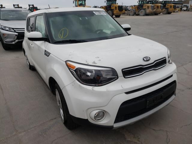 Salvage cars for sale from Copart Grand Prairie, TX: 2019 KIA Soul +