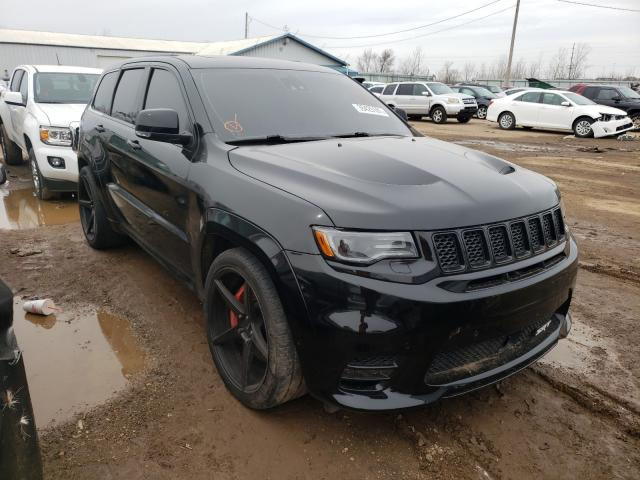 Salvage cars for sale from Copart Pekin, IL: 2017 Jeep Grand Cherokee