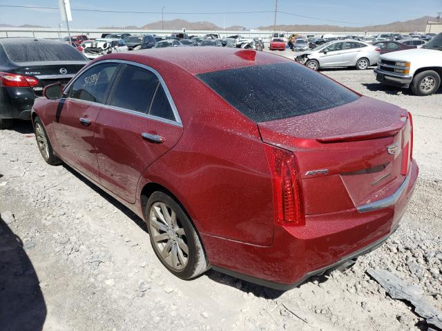 2018 CADILLAC ATS LUXURY - Right Front View