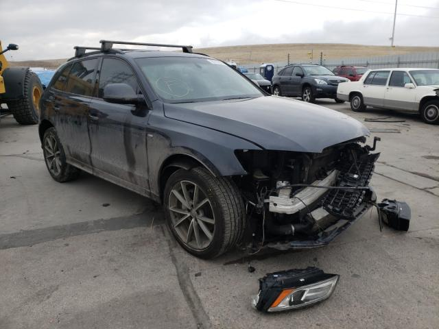 Salvage cars for sale from Copart Littleton, CO: 2016 Audi Q5 TDI Premium