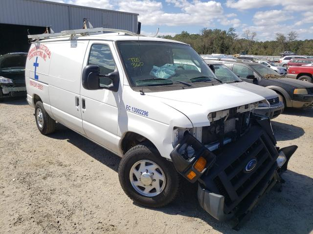Salvage cars for sale from Copart Jacksonville, FL: 2012 Ford Econoline
