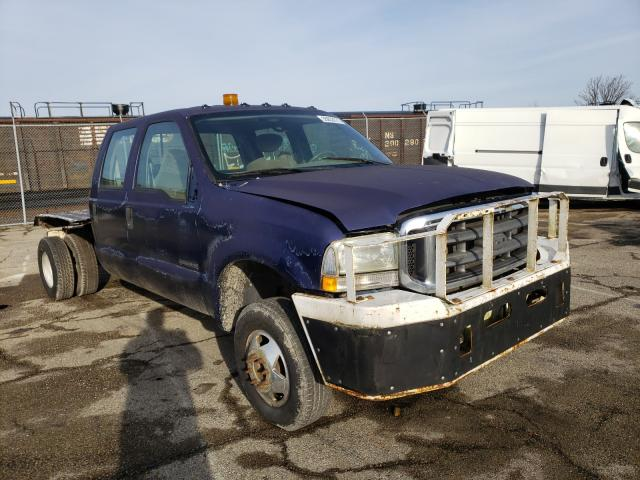 Salvage cars for sale from Copart Moraine, OH: 2003 Ford F350 Super