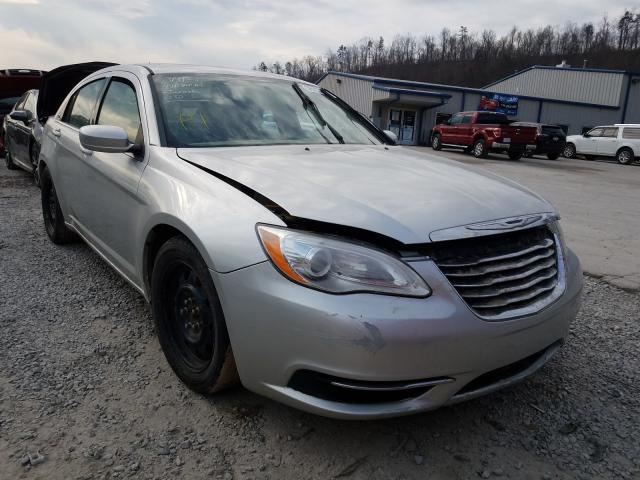Salvage cars for sale from Copart Hurricane, WV: 2012 Chrysler 200 LX