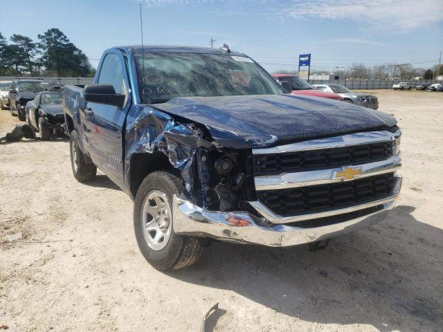 Salvage cars for sale from Copart Newton, AL: 2017 Chevrolet Silverado