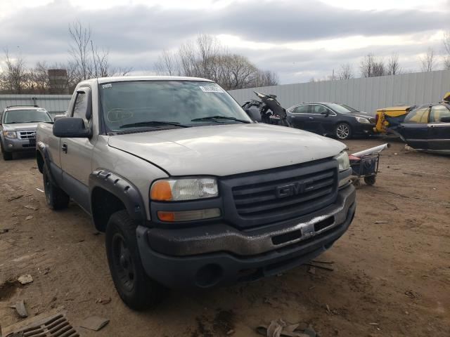 Salvage cars for sale from Copart Columbia Station, OH: 2004 GMC New Sierra