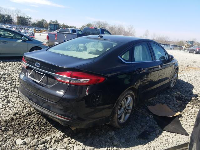 2018 FORD FUSION SE - Right Rear View