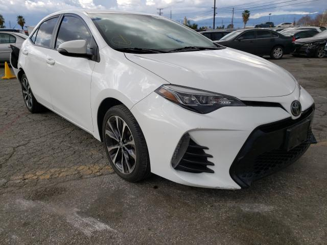 Salvage cars for sale from Copart Colton, CA: 2019 Toyota Corolla L