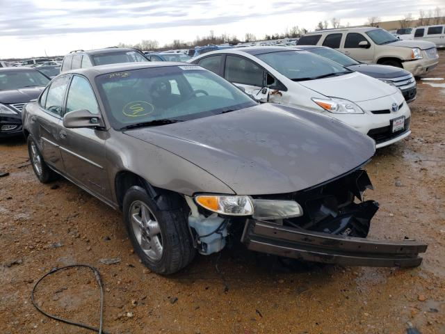 Salvage cars for sale from Copart Bridgeton, MO: 2002 Pontiac Grand Prix