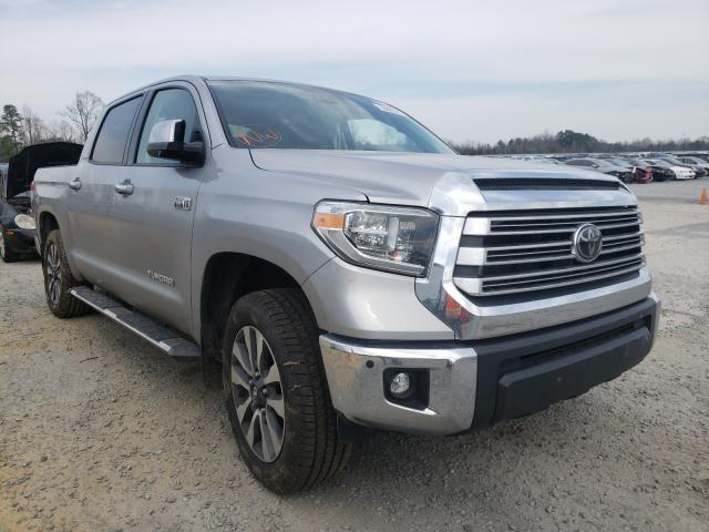 Salvage cars for sale from Copart Lumberton, NC: 2020 Toyota Tundra CRE