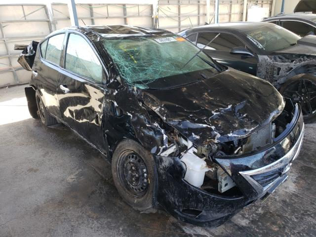 Salvage cars for sale from Copart Anthony, TX: 2019 Nissan Versa S