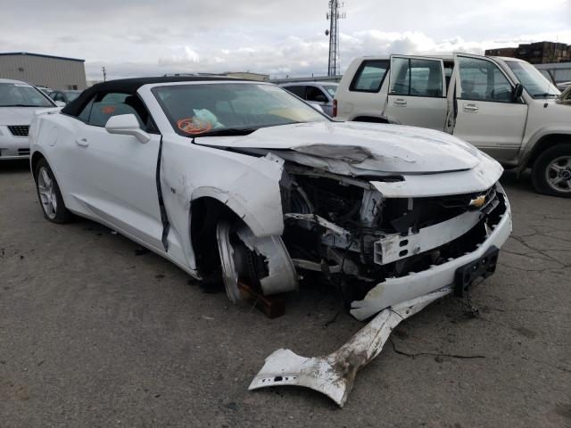 Salvage cars for sale from Copart Fresno, CA: 2019 Chevrolet Camaro LS