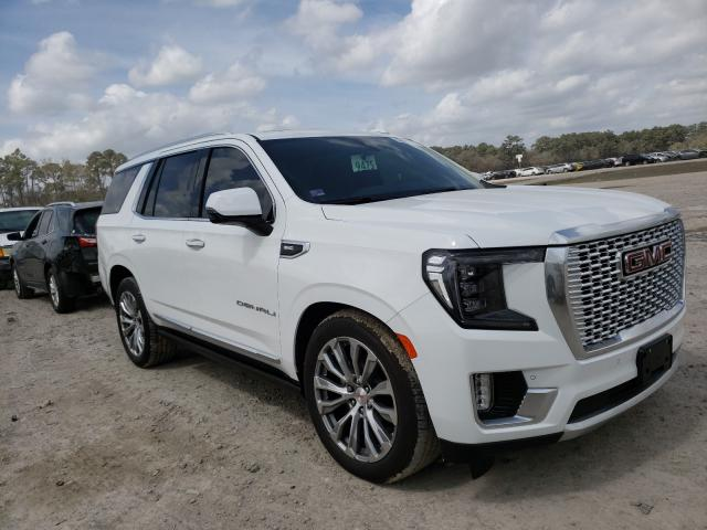Salvage cars for sale from Copart Houston, TX: 2021 GMC Yukon Dena