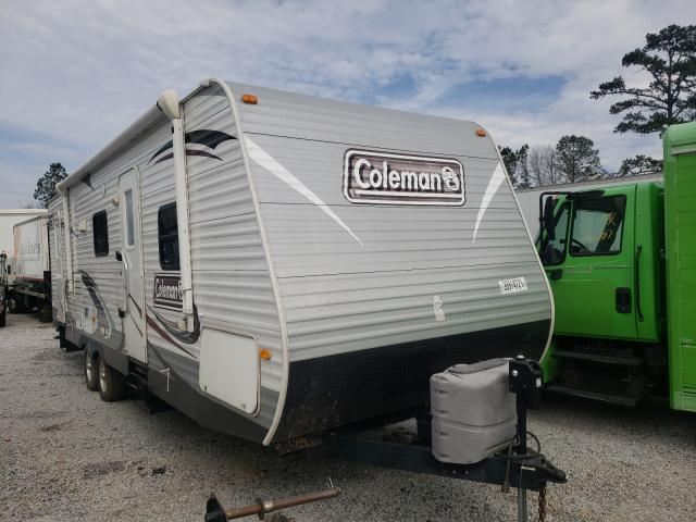 Coleman salvage cars for sale: 2014 Coleman Trailer