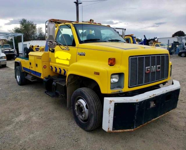 Salvage cars for sale from Copart Hayward, CA: 1995 GMC Topkick C6