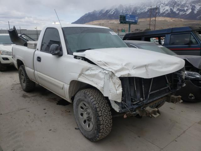 Salvage cars for sale from Copart Farr West, UT: 2007 Chevrolet Silverado