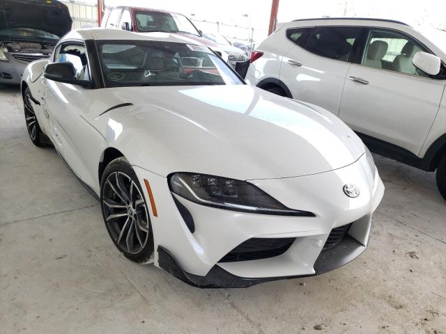 Salvage cars for sale from Copart Homestead, FL: 2021 Toyota Supra