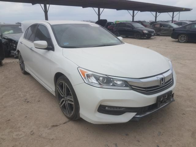 Salvage cars for sale from Copart Temple, TX: 2017 Honda Accord Sport