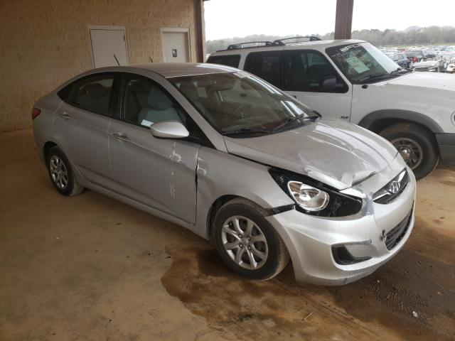 Salvage cars for sale from Copart Tanner, AL: 2013 Hyundai Accent GLS