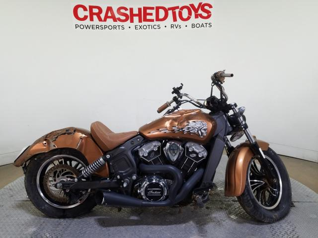 Indian Motorcycle Co. salvage cars for sale: 2016 Indian Motorcycle Co. Scout