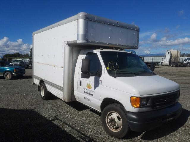 Salvage cars for sale from Copart Vallejo, CA: 2006 Ford Econoline