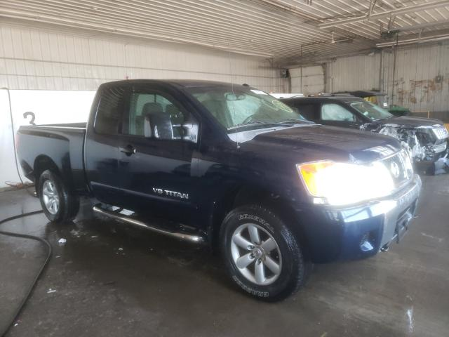 Salvage cars for sale from Copart Candia, NH: 2008 Nissan Titan XE