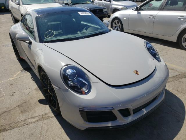 Porsche salvage cars for sale: 2018 Porsche 911 Carrer