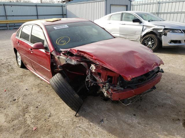 Salvage cars for sale from Copart Wichita, KS: 2013 Chevrolet Impala LT