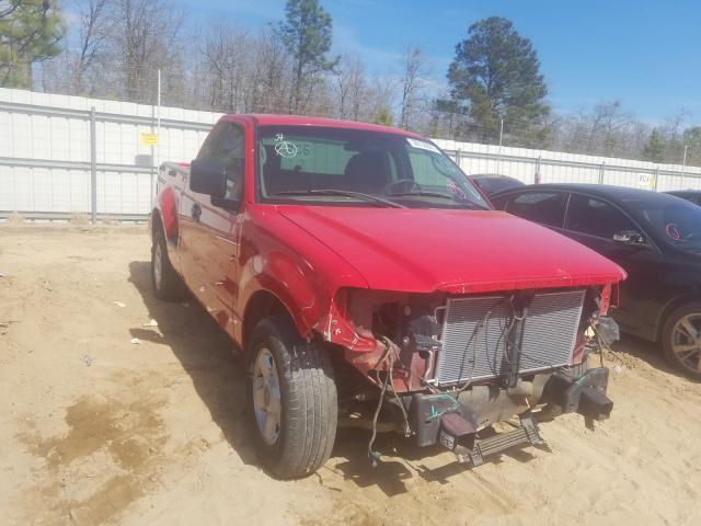 Salvage cars for sale from Copart Gaston, SC: 2004 Ford F150