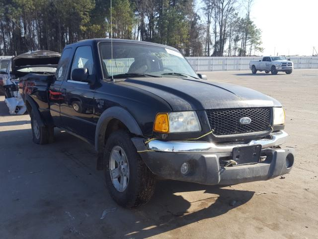 Salvage cars for sale from Copart Knightdale, NC: 2002 Ford Ranger SUP
