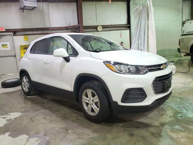 Salvage cars for sale from Copart Leroy, NY: 2021 Chevrolet Trax LS