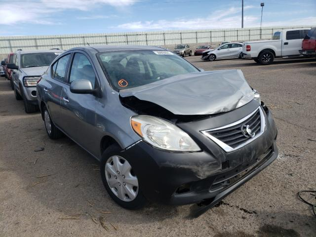 Salvage cars for sale from Copart Albuquerque, NM: 2013 Nissan Versa S